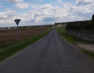 Nowa nawierzchnia drogi w Mikanowie A
